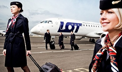 LOT POLISH AIRLINES – Keeping you well connected