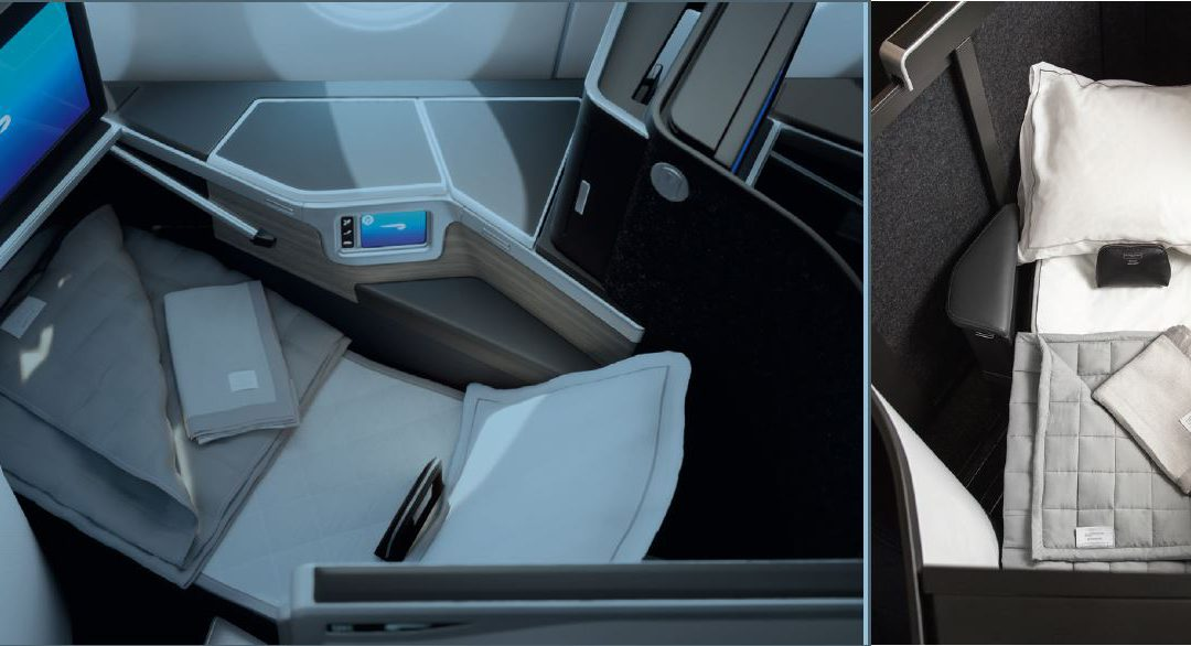 Business Class 'Club Suite' van British Airways