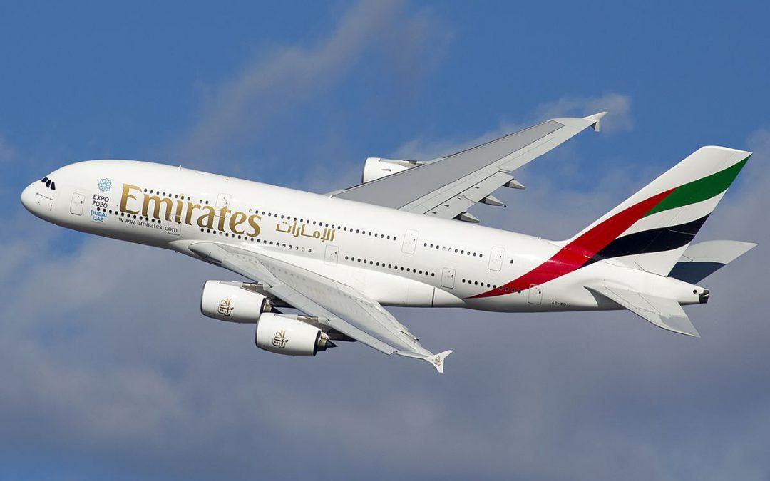Aanbieding Business Class Emirates